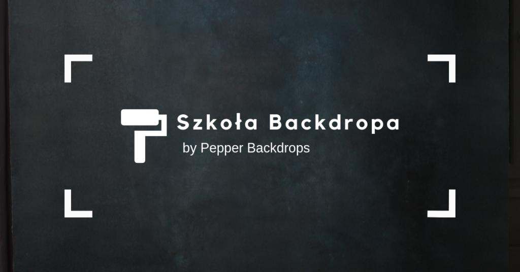 Szkoła Backdropa by PepperBackdrops
